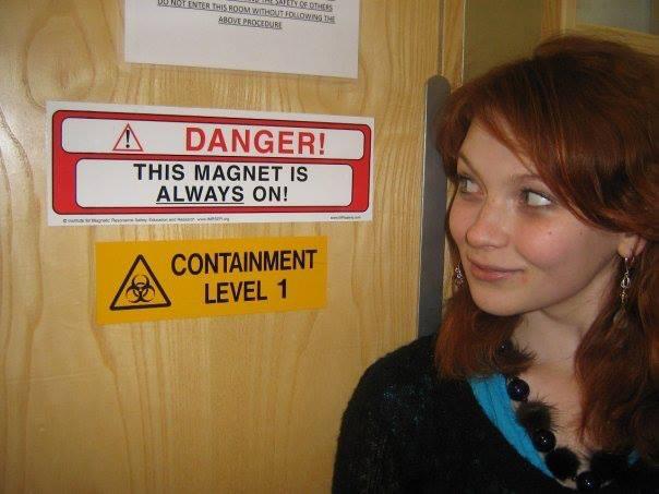 Danger, indeed!