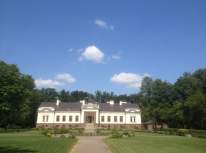 Cinema Camp, run by Meno Avilys, took place in this beautiful country house under a glorious sun.