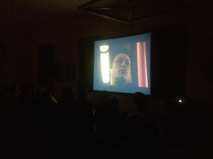 Afterimages screens at Cinema Camp in Gelgaudiškis, Lithuania, on 25 July 2014.