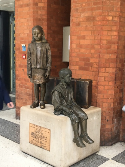 Two of the Kindertransport children
