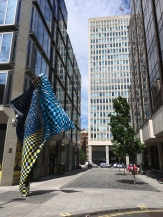 Yinka Shonibare's Wind in Howick Place