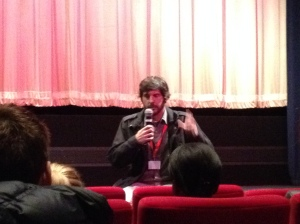 Diego Quemada-Díez gives a Q&A at the London Film Festival 2013.
